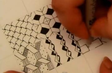 转载:zentangle块